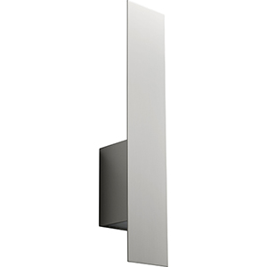 Reflex Satin Nickel Two-Light LED Wall Sconce