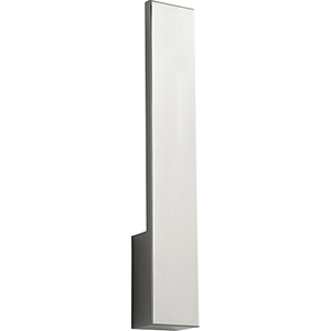 Icon Satin Nickel One-Light LED Wall Sconce