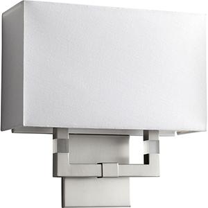 Chameleon Satin Nickel One-Light LED Wall Sconce