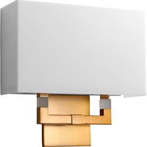 Chameleon Aged Brass One-Light LED Wall Sconce