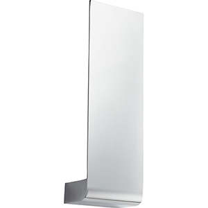 Halo Polished Chrome One-Light LED Wall Sconce