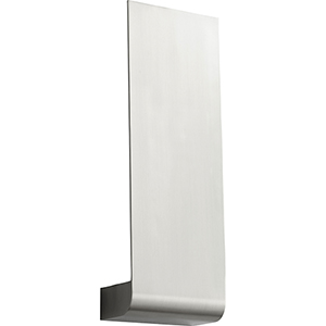 Halo Satin Nickel One-Light LED Wall Sconce
