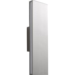 Low Profile Satin Nickel Wall Sconce Bellacor
