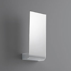 Halo Polished Chrome Five-Inch LED 120V Sconce