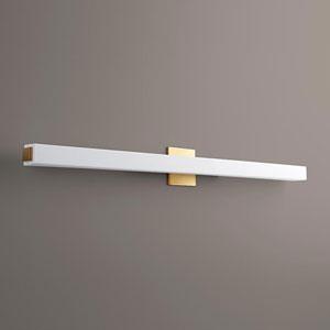 Adelphi Aged Brass 46-Inch LED 120V Bath Vanity
