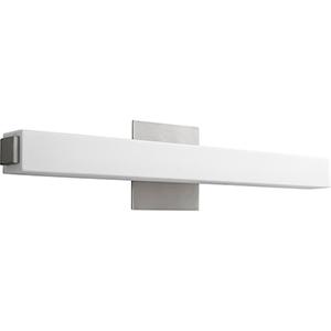 Adelphi Satin Nickel One-Light LED Bath Vanity