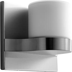 Olio Satin Nickel One-Light LED Wall Sconce