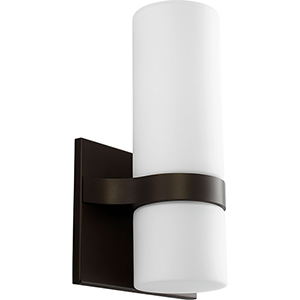 Olio Oiled Bronze Two-Light LED Wall Sconce