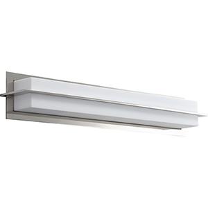 Metrix Polished Nickel One-Light LED Bath Vanity