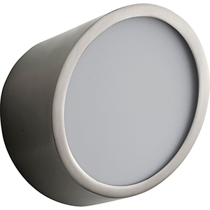 Zeepers Satin Nickel One-Light LED Wall Sconce