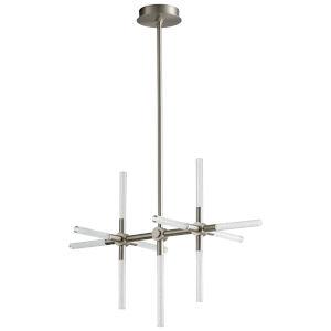 Tali Satin Nickel 11-Light LED Pendant