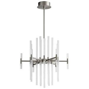 Miro Satin Nickel 37-Light LED Chandelier