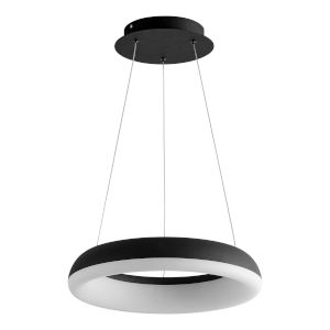 Roswell Black 16-Inch LED Chandelier