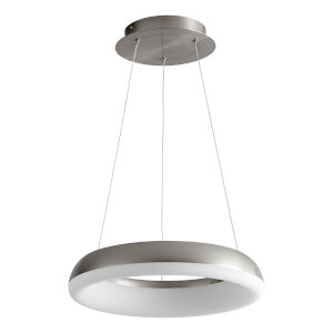 Roswell Satin Nickel 16-Inch LED Chandelier
