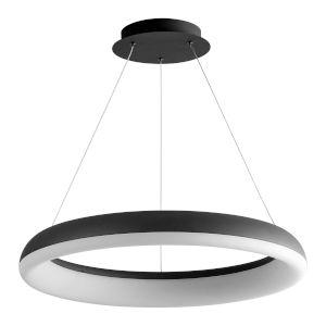 Roswell Black 24-Inch LED Chandelier