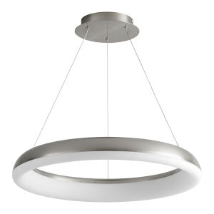 Roswell Satin Nickel 24-Inch LED Chandelier