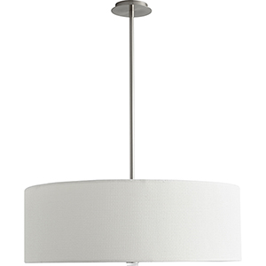 Echo Satin Nickel Four-Light LED Pendant