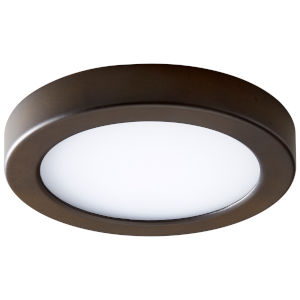 Elite Oiled Bronze Seven-Inch LED Flush Mount