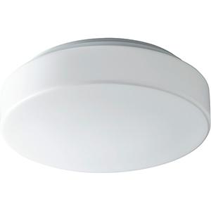 Rhythm White One-Light LED Flush Mount
