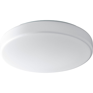 Rhythm White Two-Light LED Flush Mount