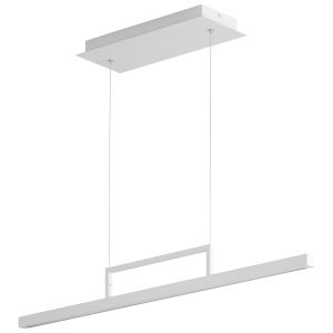 Stylus White 34-Inch LED Pendant