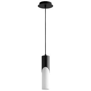 Ellipse Black 13-Inch LED Mini-Pendant