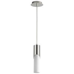 Ellipse Polished Nickel 13-Inch LED Mini-Pendant