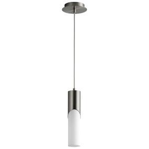 Ellipse Satin Nickel 13-Inch LED Mini-Pendant