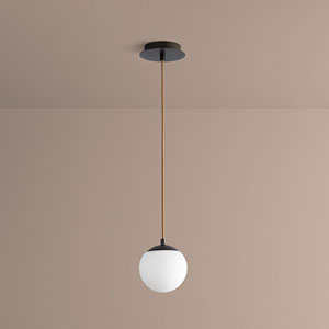 Luna Oiled Bronze Six-Inch LED 120V Pendant