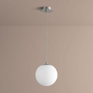 Luna Satin Nickel 10-Inch LED 120V Pendant