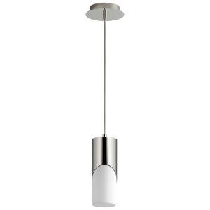Ellipse Polished Nickel 11-Inch LED Mini-Pendant