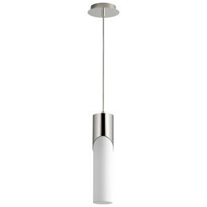 Ellipse Polished Nickel 17-Inch LED Mini-Pendant