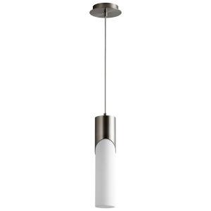 Ellipse Satin Nickel 17-Inch LED Mini-Pendant
