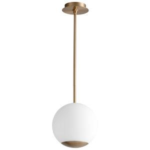 Terra Aged Brass 10-Inch LED Pendant