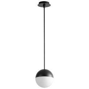 Mondo Black Eight-Inch LED Mini-Pendant