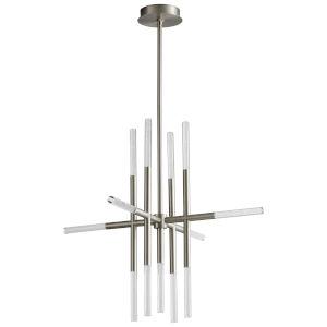 Moxy Satin Nickel 13-Light LED Chandelier