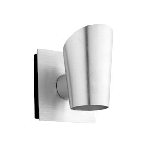 Pilot Brushed Aluminum Two-Light LED Outdoor Wall Sconce