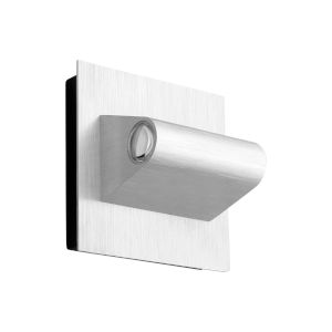 Cadet Brushed Aluminum Two-Light LED Outdoor Wall Sconce