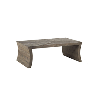 Godwin Recycled Dark Elm 50-Inch Coffee Table