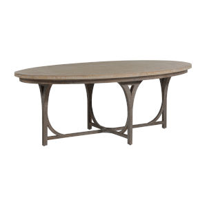 Shannon White and Gray Dining Table