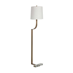 Jayden Antique Brass One-Light Floor Lamp