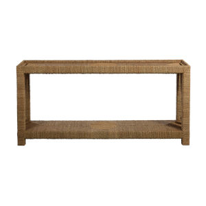 Hutch Natural Seagrass 70-Inch Console Table