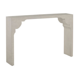 Dorry White Console Table