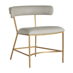 Mason Gray and Gold Dining Chair