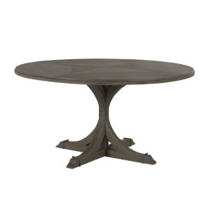 Adams Vintage Gray Round Dining Table