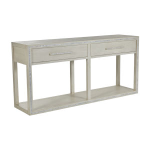 Debra Sesame White Console Table