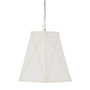 Bellamy White and Cream Six-Light Pendant