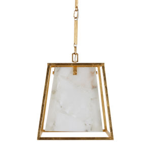 Stacey Gilded Gold Four-Light Chandelier