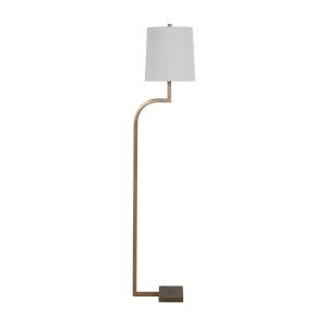 Hawthorn Matte Antique Brass One-Light Floor Lamp