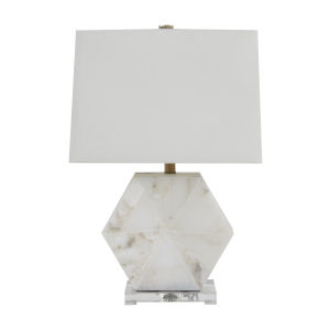 Madden Antique Brass One-Light Table Lamp